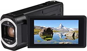 JVC GZ-VX810BEU Full-HD Camcorder (12,8 Megapixel, 10-fach opt. Zoom, 7,6 cm (3 Zoll) Touchscreen) schwarz