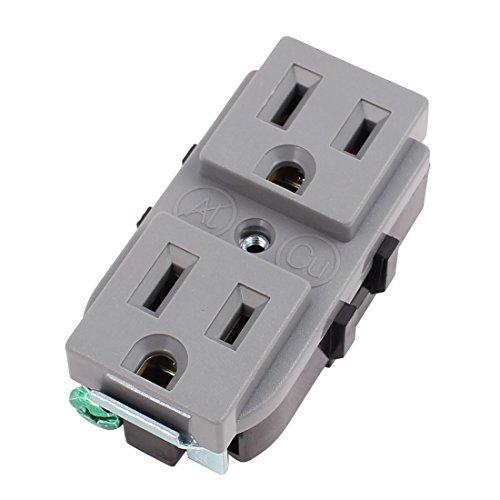 DealMux AC 125V US-Buchse Ladegerät Wand Wechselstrom-Steckdose Outlet-Platten-Adapter - Wechselstrom-wand-ladegerät-adapter