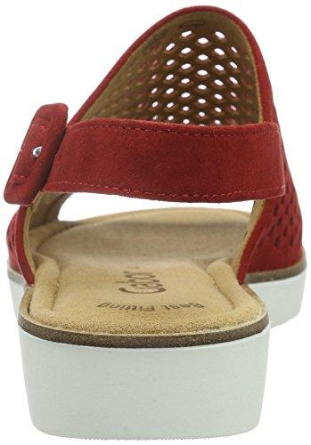 Gabor Shoes 45.590 Sandali da Donna Rosso (15 Rot)