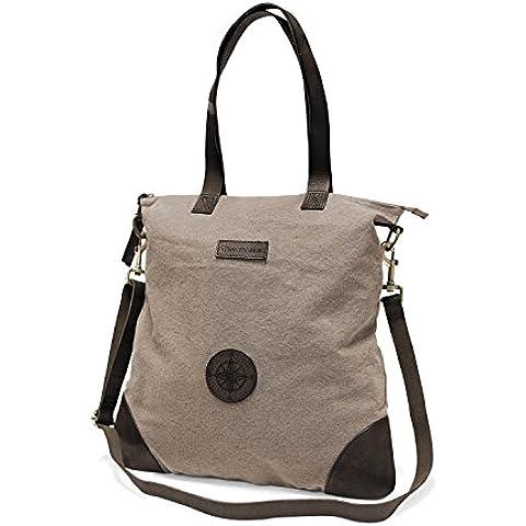 DRAKENSBERG Kimberley Legacy Shopper, borsetta, borsa shopping, grande, shopping bag