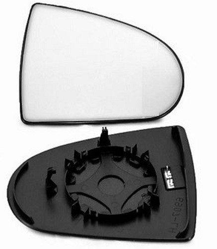 Preisvergleich Produktbild Unbranded Spiegelglas Außenspiegel Rechts Heizbar Konvex Chrom MITSUBISHI COLT 04-12