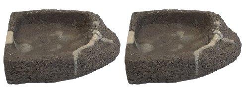 Eau dangle Coque Granite Gris pierre Small M/&S Reptilien