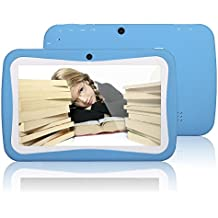 Kivors 7 pouces Enfants Tablette PC 8G ROM Android Quad Core 1.2 GHz Tablet pour les enfants(2016 nouveau modèle )