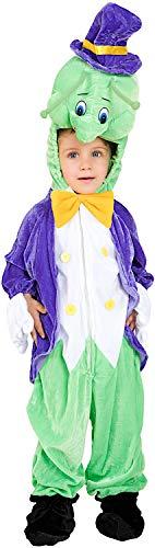 Carnevale Venizano CAV60782-2 - Plüschkostüm GRILLO PARLANTE - Alter: 1-4 Jahre - Größe: - Pinocchio Kostüm Kind