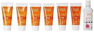 VLCC Papaya Fruit Facial Kit + Free Rose Water Toner Worth Rs 170, 300 g