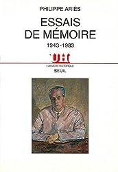 Essais de mémoire (1943-1983) (L'Univers historique) (French Edition)