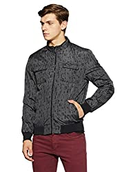 Arrow New York Mens Regular Fit Jacket (8907259328959_AJQY9414_Medium_Black)