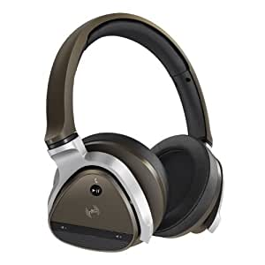 Creative Aurvana Gold Wireless Headset with 40mm Drivers Bluetooth 3.0 NFC and Built-In Microphone