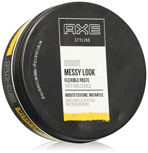 Axe Whatever Messy Look Paste, 2.64-Ounce Jars (Pack of 3) by AXE (English Manual)