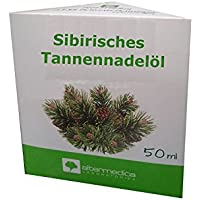 Sibirisches ätherisches Tannennadelöl, Abies sibirica, 50ml, bekämpft Erkältungserreger, fördert Durchblutung... preisvergleich bei billige-tabletten.eu