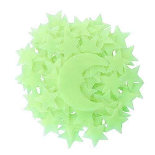 VORCOOL Luna Estrellas Luminosas Pegatinas Pared Techo