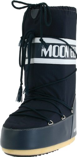 Original Tecnica Moonboot Nylon blue unisex Größe 39-41