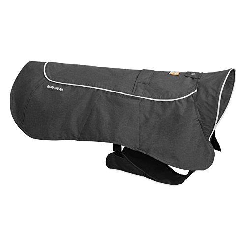 Ruffwear Wasserdichte Regenjacke für Hunde, Große Hunderassen, Größe: L, Grau (Twilight Grey), Aira, 0580-025L (Regen-jacken Für Kleine Hunde)