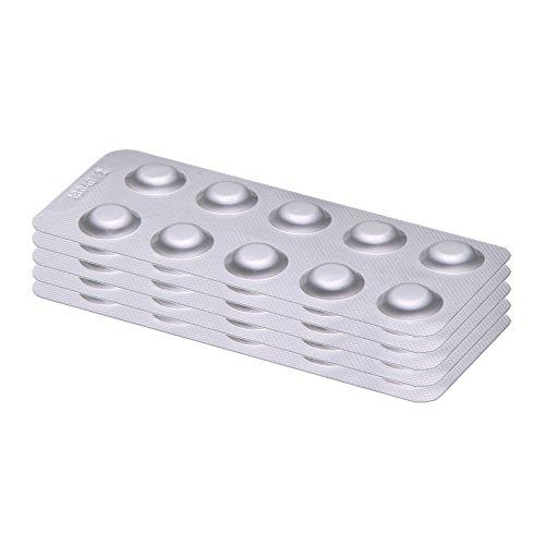 POWERHAUS24 50 Rapid Testtabletten Chlor DPD 1 (Dpd 1 Tabletten)