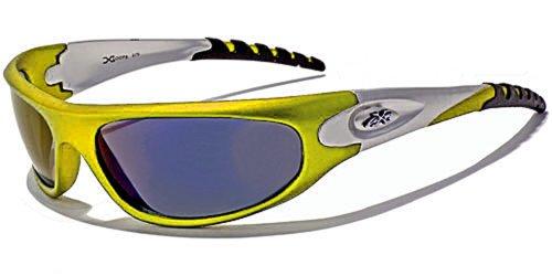Occhiali da sole xloop sport - ciclismo - sci - condotta - moto - running / 2610 giallo