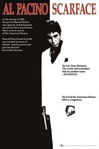 Pyramid International Scarface Movie One Sheet Maxi Poster
