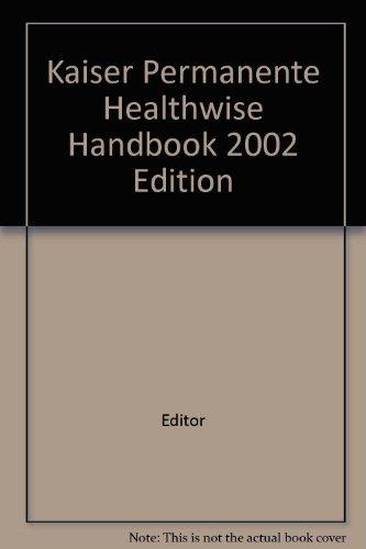 kaiser-permanente-healthwise-handbook-2002-edition
