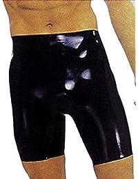 Shaun Sloane Latex Bermuda Shorts, L
