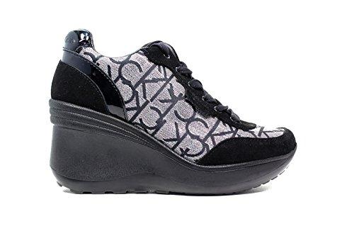 Calvin Klein Jeans RE9648 Sneakers Scarpe Donna Casual Sportive Zeppa (39)
