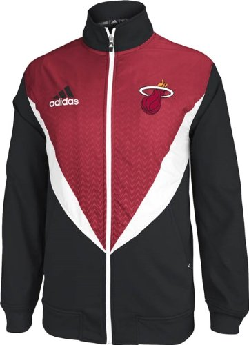 Miami Heat Adidas 2013 NBA Resonate Performance Jacket Veste