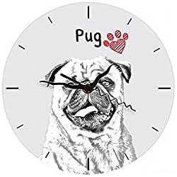 Relojon una imagen de un perro pug