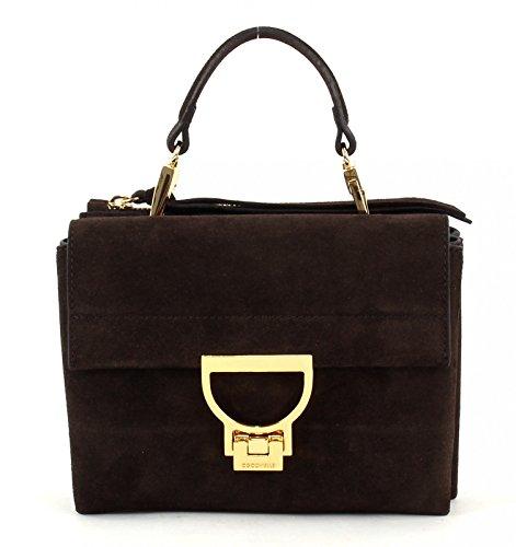 Coccinelle Minibag Borsa a tracolla pelle 19 cm moro