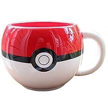 BSBL Pokemon Poke Boule Handgrip Coupe de thé Tasse de café en céramique