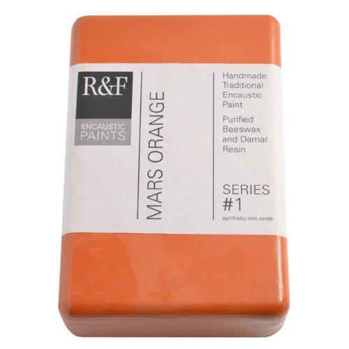 R & F Encaustic 333ml Mars Arancione