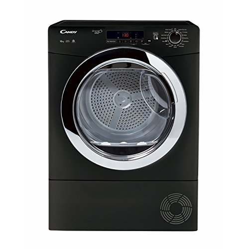 Candy GVSC10DCGB-80 B Rated 10kg 4 Temps Condenser Tumble Dryer with Timer Black