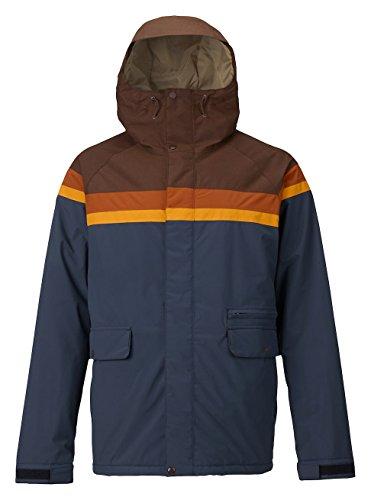 Burton Herren Docket Jacket Snowboardjacke, Chestnut Cord/Clay/Golden Oak/Mood Indigo, L