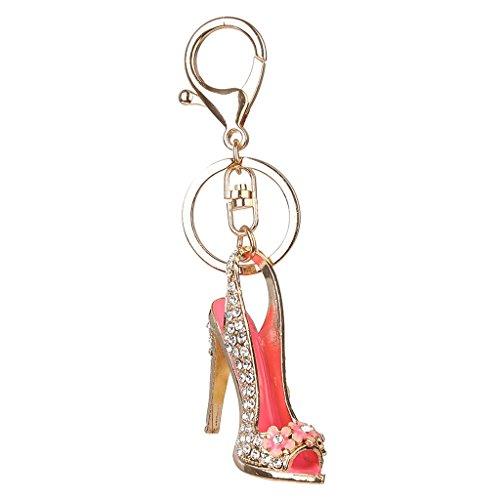 Demarkt Porte-cl/és Pendentif Forme de Chaussure /à Talon Haut Cr/éatif Cadeau D/écoration