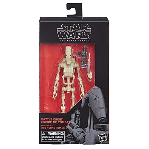Star Wars E4085ES0 The Black Series große Kampfdroide Figur, 15 cm, Mehrfarbig, 5,1 x 12,7 x 22,9 cm
