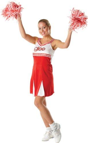 Glee Cheerleader Damenkostüm Karneval Verkleidung Damen Large Large (Glee Cheerleader Kostüme)