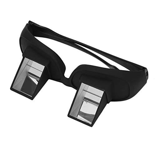 MXECO Increíble perezoso Periscopio creativo Lectura horizontal TV Sentarse Ver Gafas en la cama Acostarse Cama Prisma Gafas Las gafas perezosas