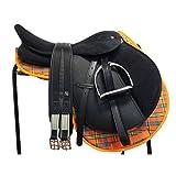 AMI Synthetik Komplettset Daslo Pony Sattel Set