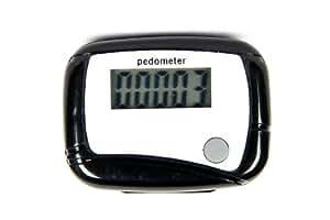 Schwarz Digitale Schrittz?hler Kalorienmesser Pedometer Schrittmesser