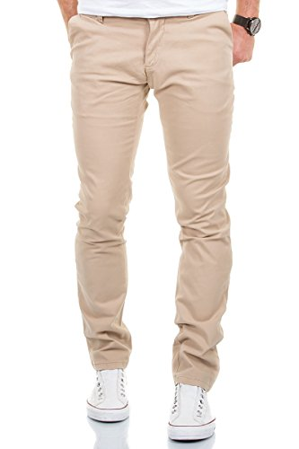 Merish Chino Stretch Slim-Fit Figurbetont...