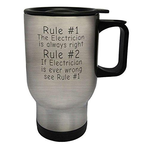 regla-1-el-electricista-siempre-tiene-razon-regla-2-vease-la-regla-1-taza-de-viaje-termica-de-acero-
