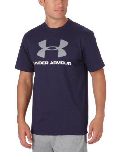 Under Armour Herren Hemd Branded Wordmark Smu, mdn, M - Under Armour Graphic T-shirt Baseball