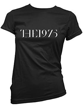 T-shirt Donna 1975 - maglietta band 100% cotone LaMAGLIERIA