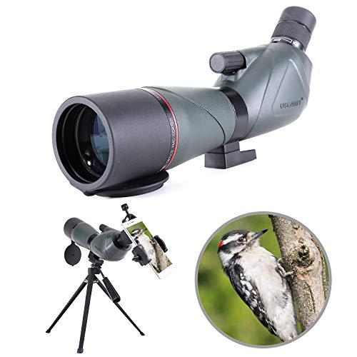20-60X80 Longue-Vue Télescope monoculaire Birdwatching...