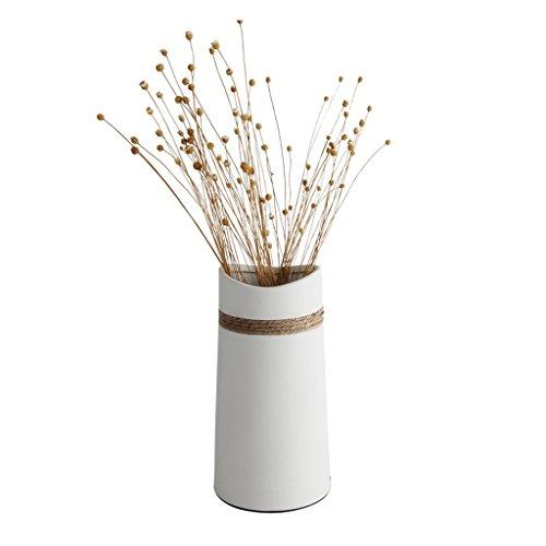 SYOADU Lampe de table en céramique pour salon étude de chambre E14 lampe de chevet, éclairage d'arts décoratifs modernes (blanc)