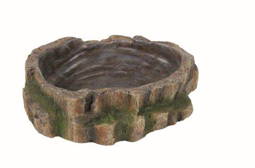 Trixie Reptile Regenwald Dekoration Wasser und Nahrung, Schüssel, 18x 4,5x 17cm
