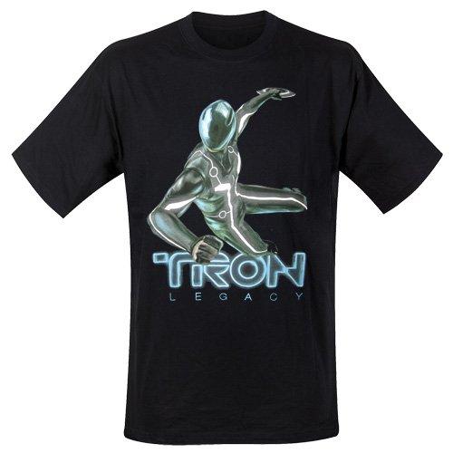 Tron Legacy - T-Shirt Tron Single (in S)