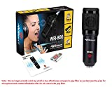 Wright WR 800 Professional home studio Condenser Microphone for voice recording and singing
