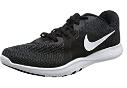 Nike W Nike Flex Trainer 8 - Blackwhite-anthracite, Größe:41