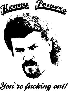 Mister Merchandise Tasche You´re Fucking out Kenny Powers Stofftasche , Farbe: Schwarz Schwarz