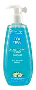 Floressance par Nature Tea Tree Gel Nettoyant Visage Purifiant 200 ml Lot de 2