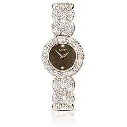 Seksy by Sekonda Elegance Rose Gold Plated Bracelet Ladies Watch 4249