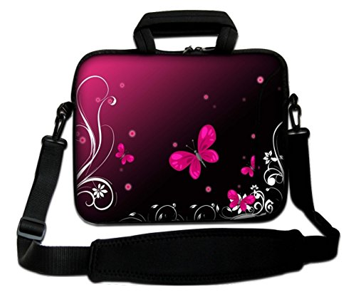Ektor, Borsa a spalla donna Rosso (Red Butterfly)